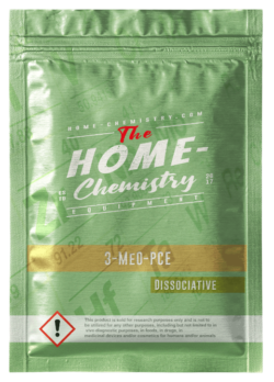 Pack of 3-MeO-PCE, bought directly from our online store.