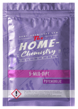 Pack of 5-MeO-DiPT, bought directly from our online store.