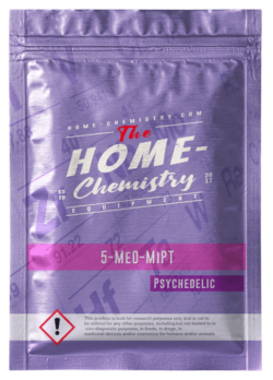 Pack of 5-MeO-MiPT, bought directly from our online store.