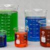 Bomex Griffin Borosilicate Glass Beaker Set of 5